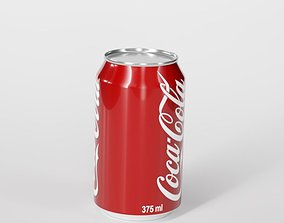 Coca cola can 3D container