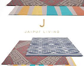 Jaipur Living Rug Set 6 3D model
