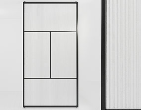 Glass partition door Set 42 partition models realtime