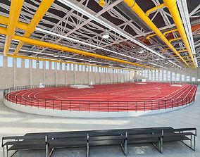 Gym Athletics Indoor Interior 3D asset