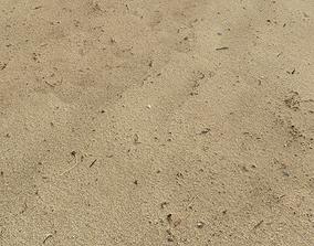 3D Sand beach terrain PBR pack 7