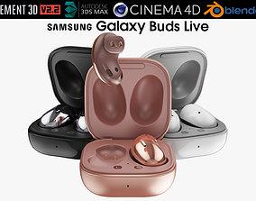 3D model Samsung Galaxy Buds Live