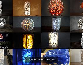 VORONOI LAMPS 3D