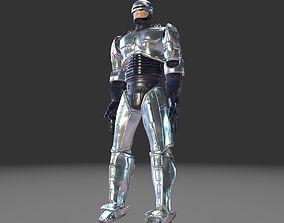 3D asset Robocop