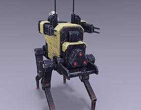 Dogbot 3D asset