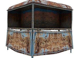 3D model Post Box 01 01 P