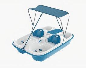 Pedal boat 3D model