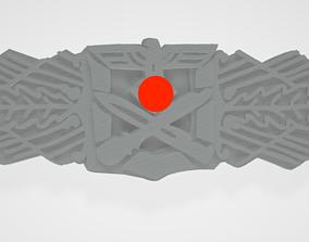 3D print model WW2 German Close Combat Clasp Medal Badge