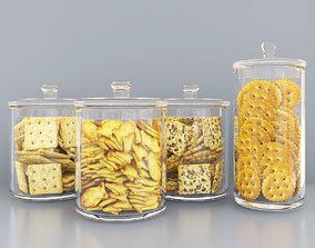 3D model Cracker jars