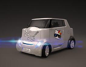 3D model Car - 2007 Toyota Hi-CT