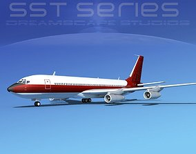 3D Boeing 707-320 SS Corporate 2