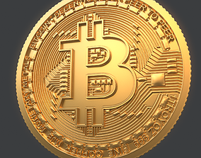 3D Bitcoin HighPoly