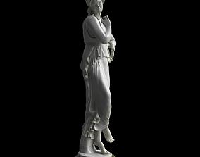 3D model Statue - Roman Goddess - Flora