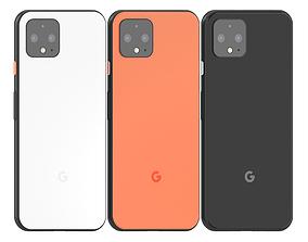 Google Pixel 4 All colours 3D model