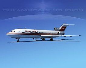 Boeing 727-200 Trans World 2 3D
