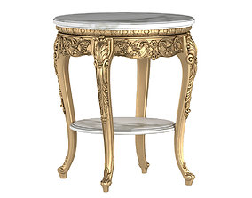 CLASSICAL ROUND SIDE TABLE 3D