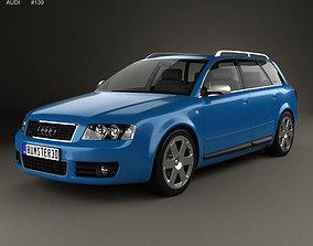 3D model Audi S4 Avant 2003