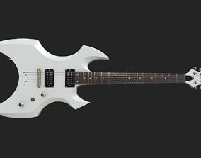 3D model low-poly Guitar Esp LTD Ax 400 50