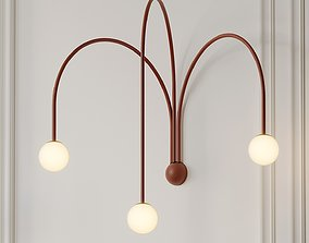 3D model Quattro Wall Sconce by Michael Anastassiades