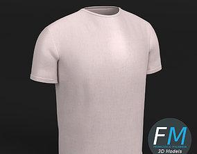 T-Shirt 3D model PBR