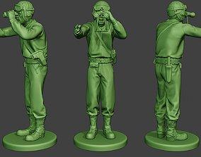3D print model American Tank Crew unit ww2 Action ATC1