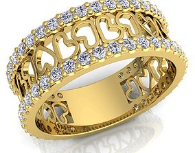 Diamond Ring 3d Model jewel wedding