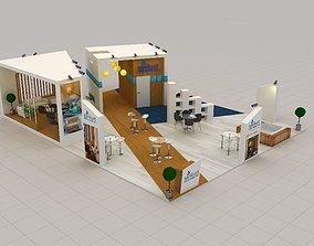 Sankurt Stall Size 14 m x 11 m Height 400 cm 3D model