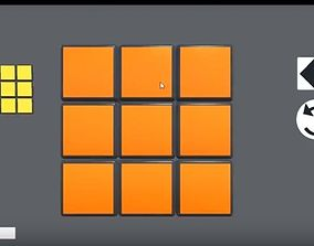 Simple Unity3d Rubics Cube Project science