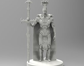 Demon Knight - 3D printing ready 3D print