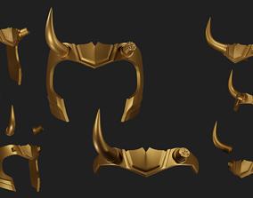 character Sylvie Lady Loki crown 3D