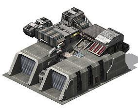Future City - Arsenal 01 3D model