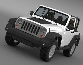 Jeep Wrangler Mountain 2012 3D model