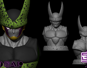 Cell Bust 1-1 Scale - Dragon Ball 3D printable model