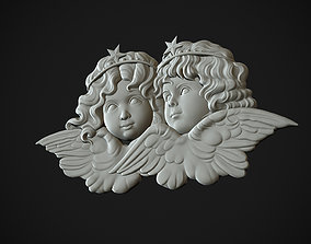 Angels Head 3D printable model