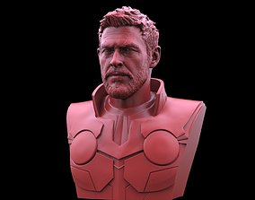 3D printable model figurines Thor -Chris Hemsworth Bust