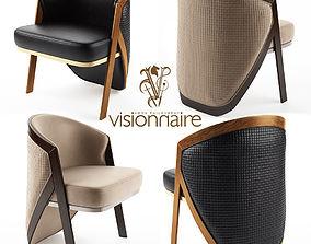 3D model Lucky armchair - Visionnaire Home Philosophy