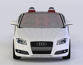 realtime AUDI A3 CABRIOLET 3D MODEL