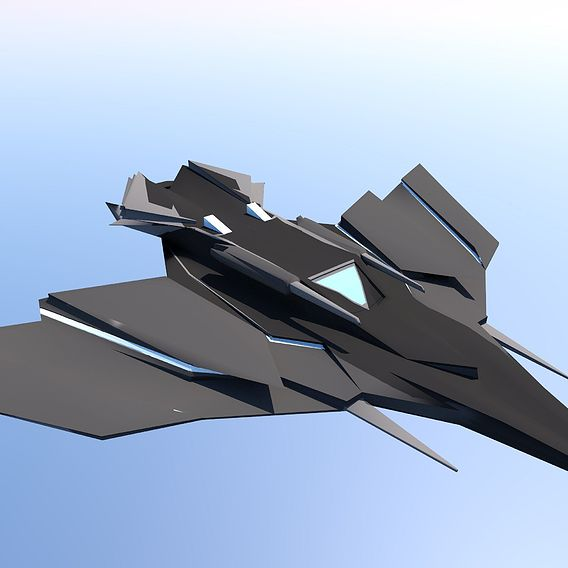 SciFi Jet (textured)