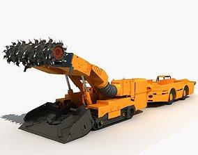3D Continuous Miner