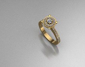 jewellery 3d model female ring