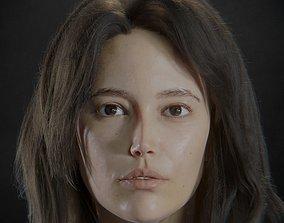 Digital Headshot - Summer 3D asset