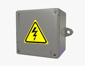 3D model Electrical Box