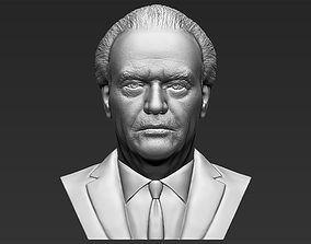 Jack Nicholson bust 3D printing ready stl obj formats