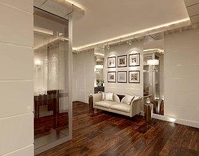 lounge Modern Hall 3D model