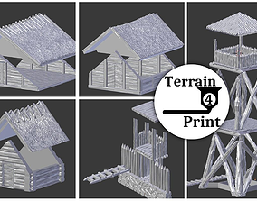 Viking sheds and towers 3D printable model