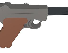Gun X 3D model