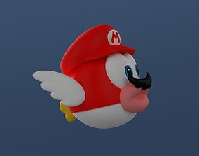 3D printable model Super Mario Odyssey Cheep-cheep