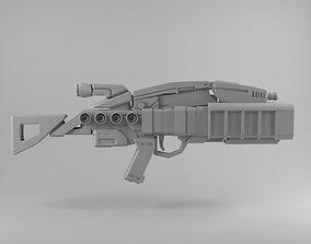 Assault Rifle X 3D model