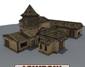 Old Farm Building2 3D model