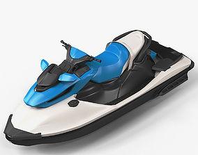 Personal Watercraft 3D model